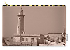 Lighthouse Marsala Carry-all Pouch
