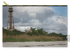Carry-all Pouch featuring the photograph Sanibel Island Light by Christiane Schulze Art And Photography