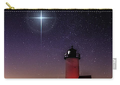 Carry-all Pouch featuring the photograph Lighthouse Star To Wish On by Jeff Folger