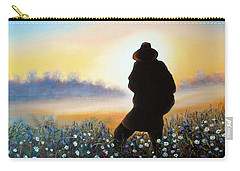 Carry-all Pouch featuring the painting Lighthunter by Vesna Martinjak