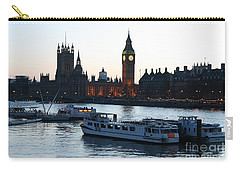 Lighting Up Time On The Thames Carry-all Pouch