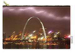 Lightning Over The Arch Carry-all Pouch