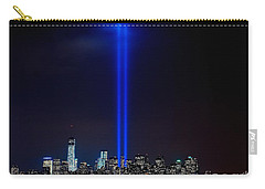 Lights Over Nyc Carry-all Pouch by Nick Zelinsky
