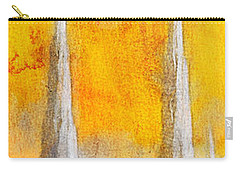 Carry-all Pouch featuring the painting Like A Fire Is Burning - Panoramic by Greg Collins