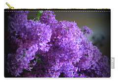Lilac Bouquet Carry-all Pouch