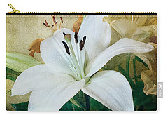 Lilies For Linda Carry-all Pouch