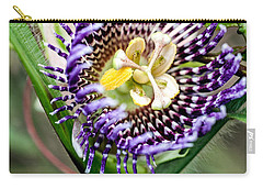 Carry-all Pouch featuring the photograph Lilikoi Flower by Dan McManus