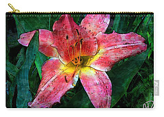 Lilly Of The Rain Carry-all Pouch