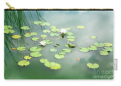 Carry-all Pouch featuring the photograph Lilly Pads by Erika Weber