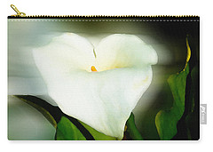 Lily Faux Watercolor Carry-all Pouch