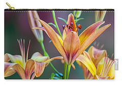 Lily From The Garden Carry-all Pouch