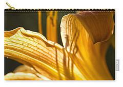 Lily In The Yard Carry-all Pouch by Daniel Sheldon