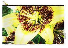 Carry-all Pouch featuring the photograph Lily Love by Shana Rowe Jackson