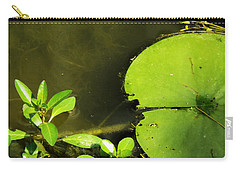 Lily Pad Carry-all Pouch by Robyn King
