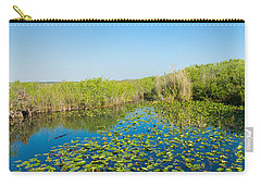 Lily Pads In The Lake, Anhinga Trail Carry-all Pouch