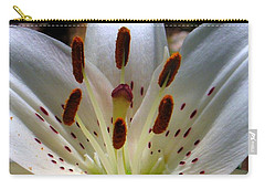 Carry-all Pouch featuring the photograph Lily by Patti Whitten