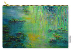 Lily Pond Tribute To Monet Carry-all Pouch