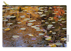 Lilypads And Reflection Carry-all Pouch