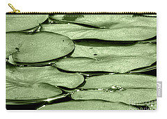 Carry-all Pouch featuring the photograph Lilypads by Roselynne Broussard