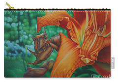 Lily's Evening Carry-all Pouch by Pamela Clements