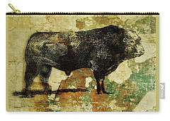 French Limousine Bull 11 Carry-all Pouch
