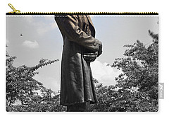 Lincoln At Lytle Park Carry-all Pouch by Kathy Barney