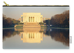 Lincoln Memorial & Reflecting Pool Carry-all Pouch by Panoramic Images