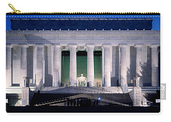 Lincoln Memorial At Dusk, Washington Carry-all Pouch by Panoramic Images