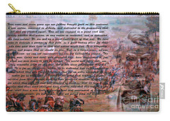 Lincoln's Gettysburg Address Carry-all Pouch