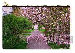 Linden Place Bristol Ri Carry-all Pouch by Tom Prendergast