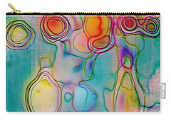 Lines And Circles 05 - C8tl01 Carry-all Pouch by Variance Collections