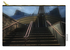 Carry-all Pouch featuring the photograph Lines N Textures by Robert McCubbin
