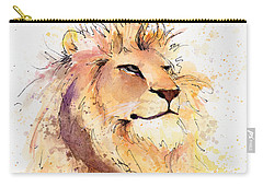 Lion 3 Carry-all Pouch by Arleana Holtzmann