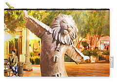 Lion Fountain Carry-all Pouch