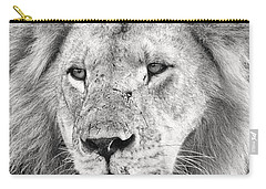 Lion King Carry-all Pouch by Adam Romanowicz