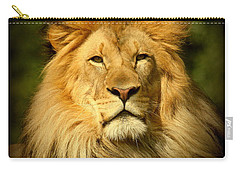 Lion King Carry-all Pouch by Myrna Bradshaw