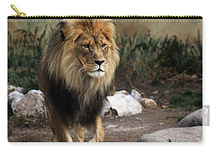 Lion King Carry-all Pouch by Ramabhadran Thirupattur