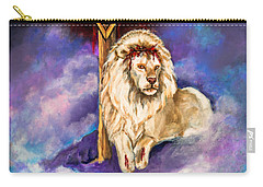 Lion Of Judah Original Painting Forsale Carry-all Pouch