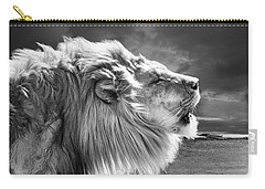 Carry-all Pouch featuring the photograph Lions Breath by Adam Olsen