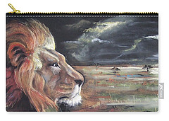 Lions Domain Carry-all Pouch