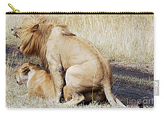 Lions Mating Carry-all Pouch