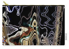 Carry-all Pouch featuring the photograph Liquid Metal II by Pennie  McCracken