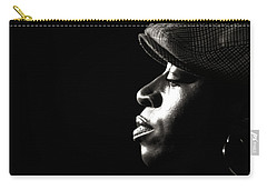Carry-all Pouch featuring the photograph Listen by Michel Verhoef