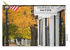 Litchfield Connecticut Carry-all Pouch