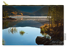 Lite Early Morning Mist Carry-all Pouch by Steven Reed