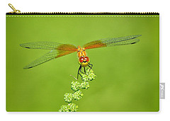 Carry-all Pouch featuring the photograph Little Bugger by Greg Norrell