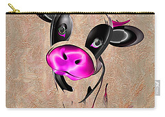 Little Cow Carry-all Pouch by Liane Wright