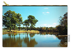 Carry-all Pouch featuring the photograph Little Creek by Angela DeFrias