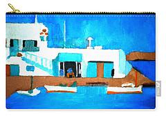 Paros  Cute Spot On Greek Island Carry-all Pouch