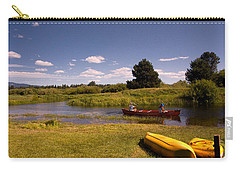 Little Deschutes River Bend Sunriver Thousand Trails Carry-all Pouch